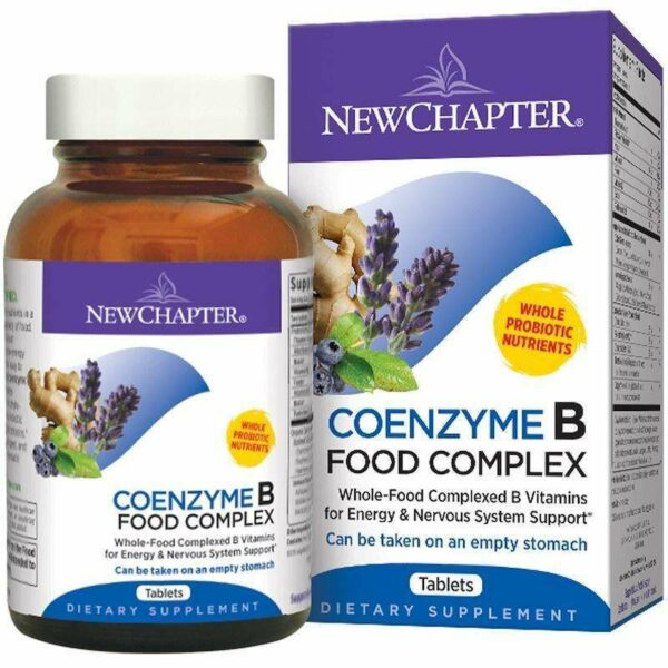 New Chapter - Coenzyme B, Food Complex - 60 Tablets - AM VITAMINS