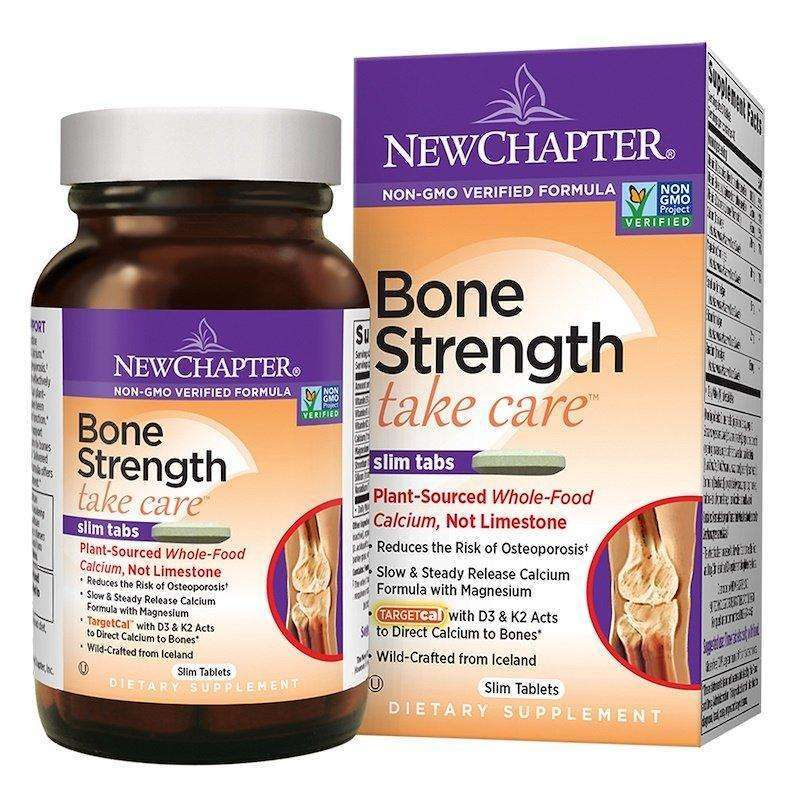 New Chapter - Bone Strength Take Care™ - 60 Tablets - AM VITAMINS