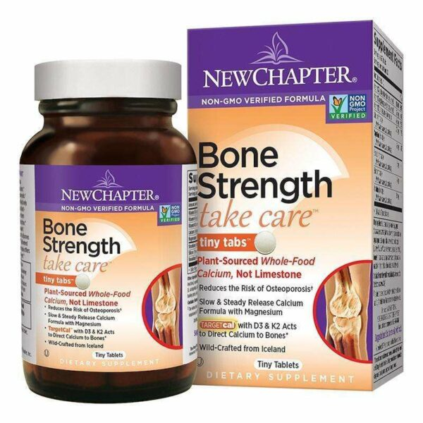 New Chapter - Bone Strength Take Care™ - 240 Tiny Tablets - AM VITAMINS