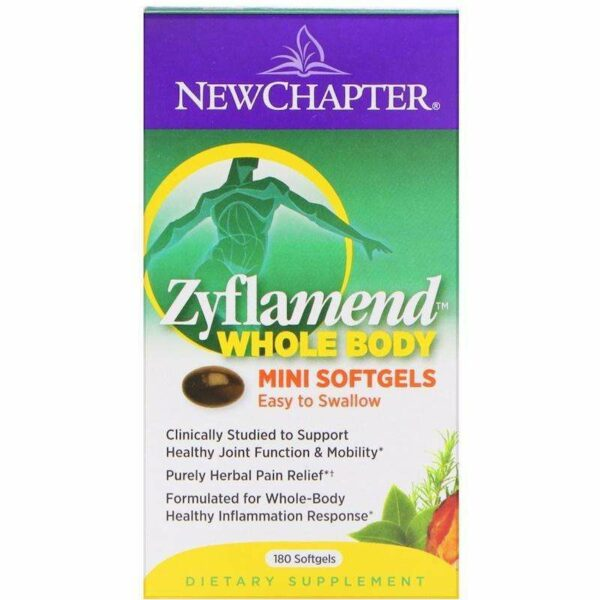 New Chapter - Zyflamend, Whole Body Mini - 180 Softgels - AM VITAMINS