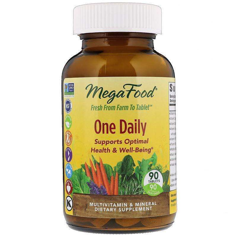 Megafood - One Daily  - 90 Tablets - AM VITAMINS