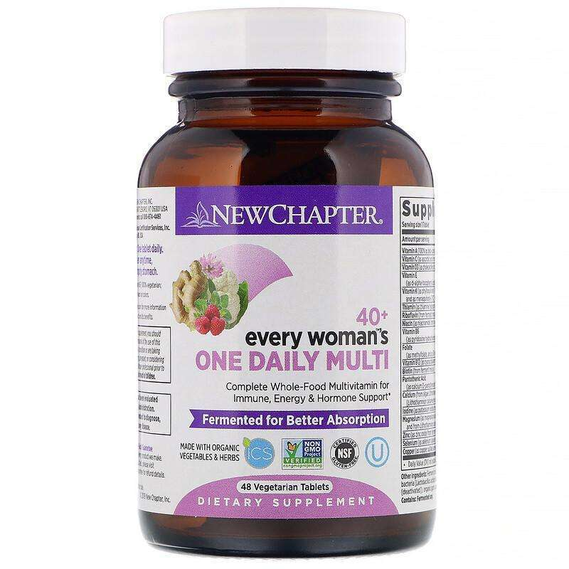 New Chapter - 40+ Every Woman™'s,One Daily  - 48 Tablets - AM VITAMINS