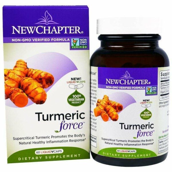 New Chapter - Turmeric Force™ - 60 Vcaps - AM VITAMINS