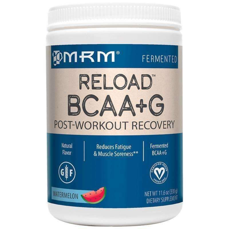 MRM - BCAA+ G RELOAD™ NATURAL Post-Workout Recovery, Watermelon - 11.6 oz (330 g) - AM VITAMINS