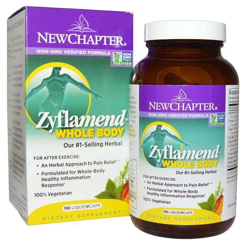 New Chapter - Zyflamend™, Whole Body - 180 Vegan Capsules - AM VITAMINS