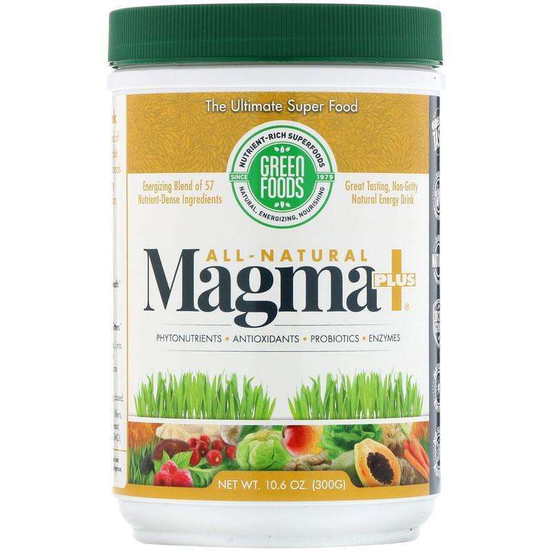 Green Food - All-Natural Magma Plus, 10.6 oz (300 g) - AM VITAMINS