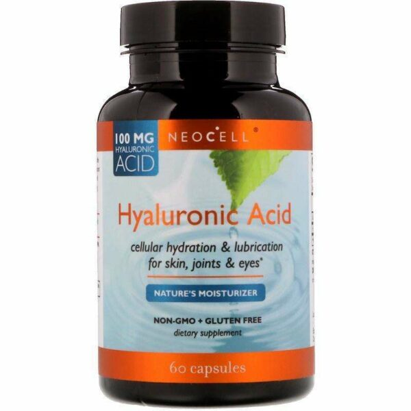 Neocell - Hyaluronic Acid, Nature's Moisturizer - 60 Capsules - AM VITAMINS