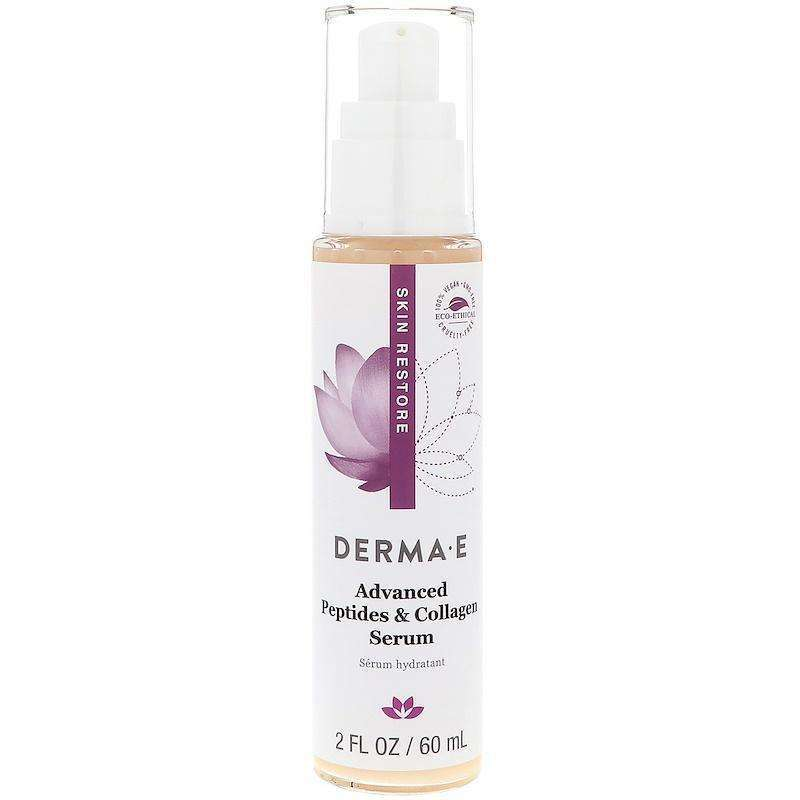Derma E - Advanced Peptides & Collagen Serum - 2 fl oz (60 ml) - AM VITAMINS