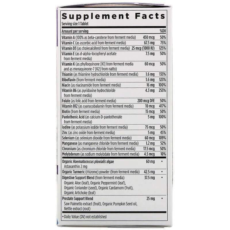 New Chapter - 55+ Every Man™'s,One Daily  - 48 Tablets - AM VITAMINS