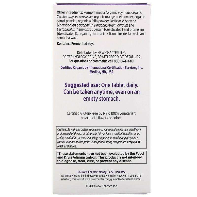 New Chapter - 55+ Every Woman™'s, One Daily  - 72 Tablets - AM VITAMINS