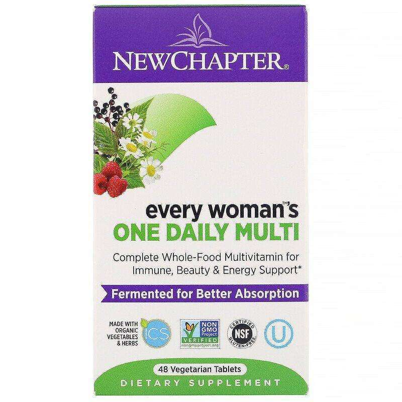 New Chapter - Every Woman™'s, One Daily - 48 Tablets - AM VITAMINS