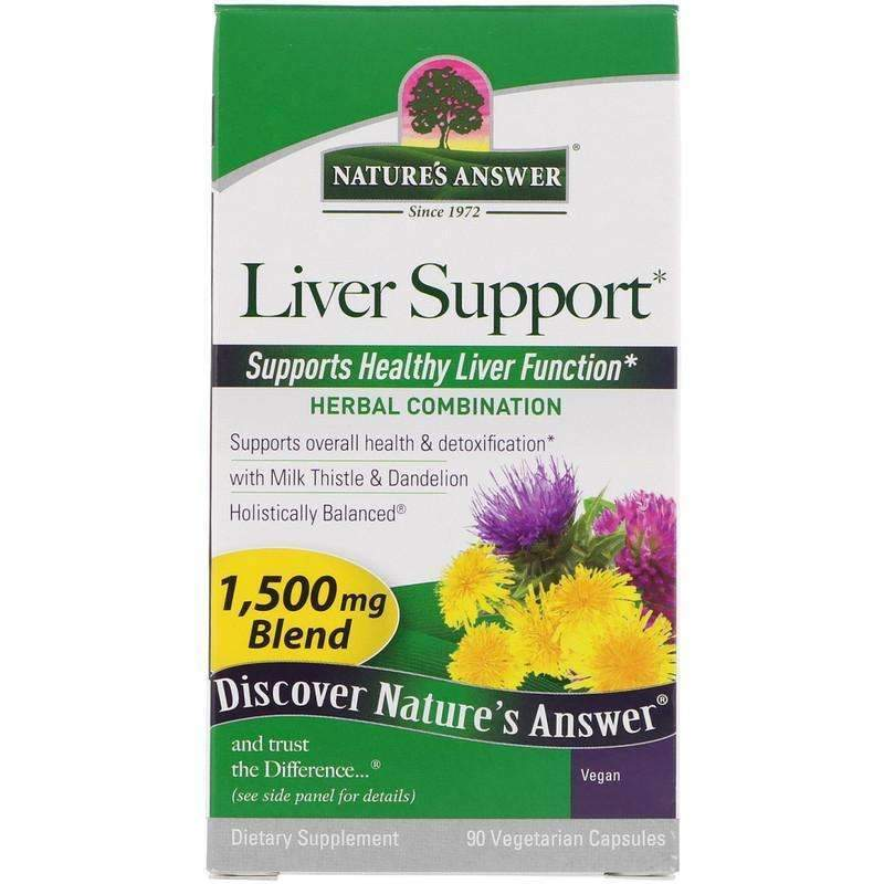 Nature's  Answers - Liver Support - 90  V-Cap - AM VITAMINS