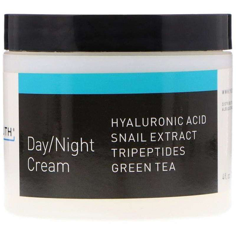 Yeouth - Day / Night Cream With Hyaluronic Acid, Snail Extract, Tripeptides - 4oz - AM VITAMINS