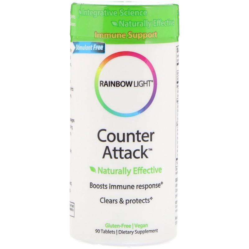 Rainbow Light - Counter Attack™   Immune Support - 90 Tablets - AM VITAMINS
