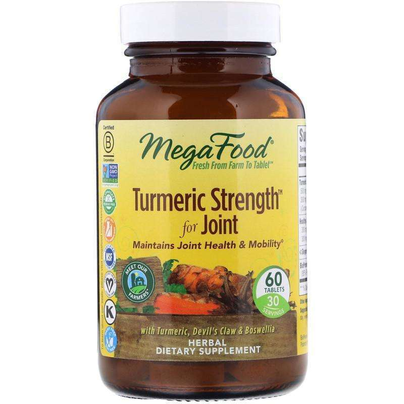 Megafood - Turmeric Strength™ For Joint - 60 Tablets - AM VITAMINS
