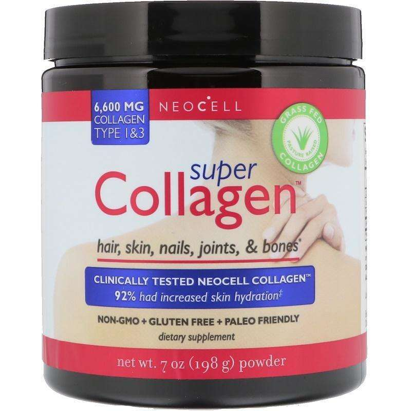 Neocell - Super Collagen, Type 1 & 3, 6,000 mg - 7 oz (198 g) - AM VITAMINS