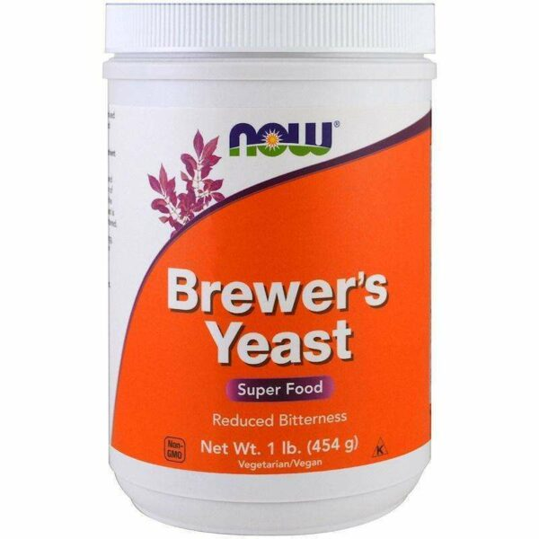 Now Foods - Brewer's Yeast, Super Food - 1 lb (454 g) - AM VITAMINS