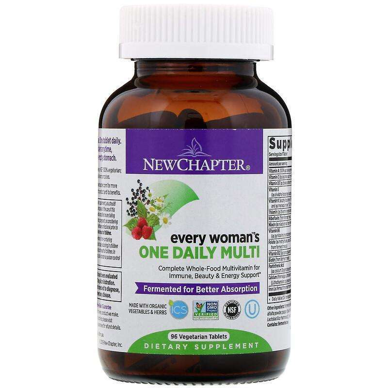 New Chapter - Every Woman™'s, One Daily - 96 Tablets - AM VITAMINS