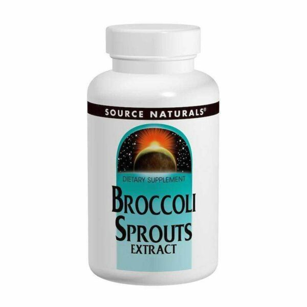 Source Naturals - Broccoli Sprouts Extract - 60 Tablet - AM VITAMINS