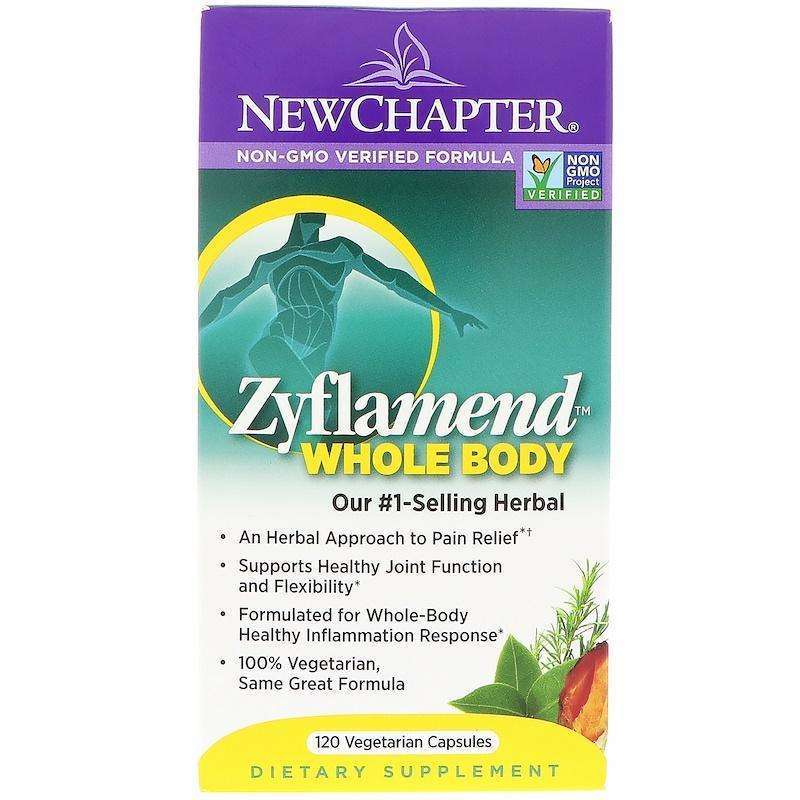 New Chapter - Zyflamend™, Whole Body - 120 vegan capsules - AM VITAMINS