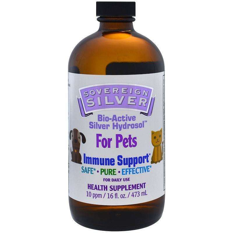 Bio-Active Silver Hydrosol Immune Support for Pets - 16 oz - Sovereign Silver - AM VITAMINS