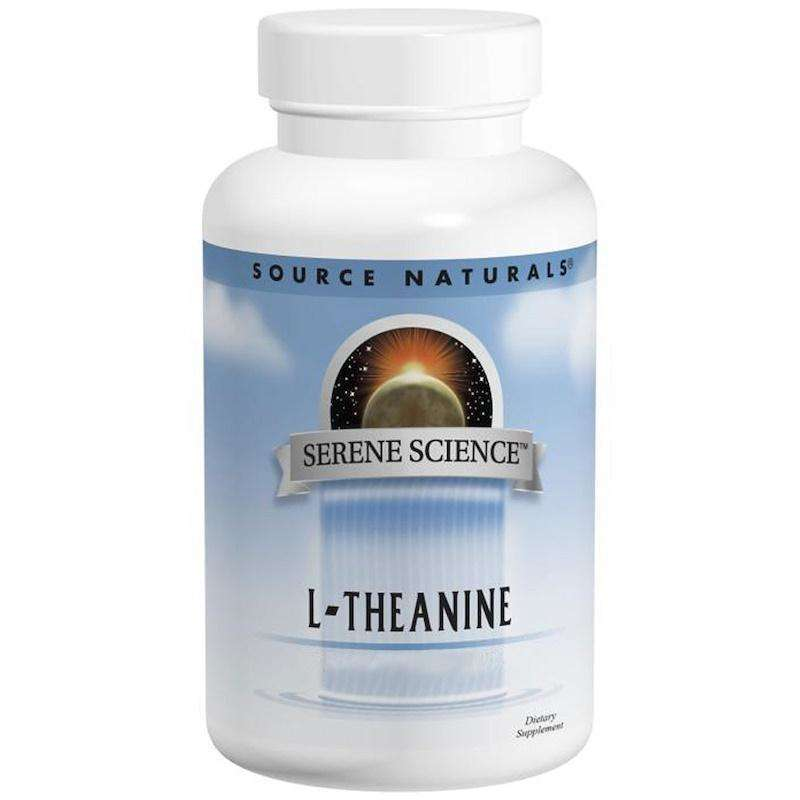 Source Naturals - Serene Science® L-Theanine 200 Mg - 60 Tablet - AM VITAMINS