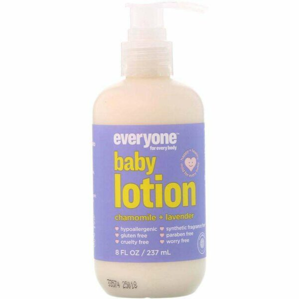 Everyone - Baby Lotion Chamomile Lavender - 8 Ounce - AM VITAMINS