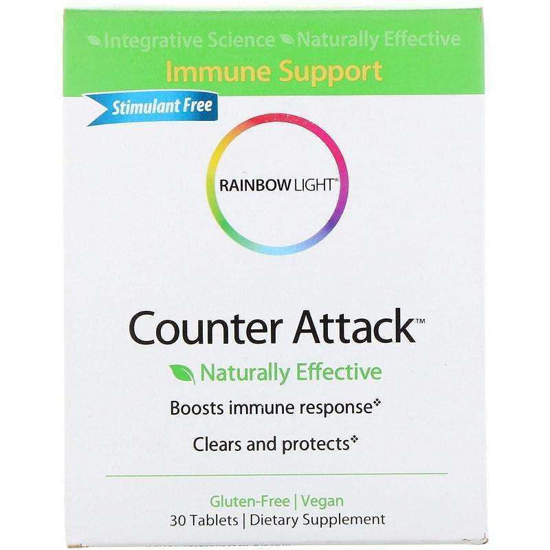 Rainbow Light - Counter Attack™  Immune Support - 30 Tablets - AM VITAMINS