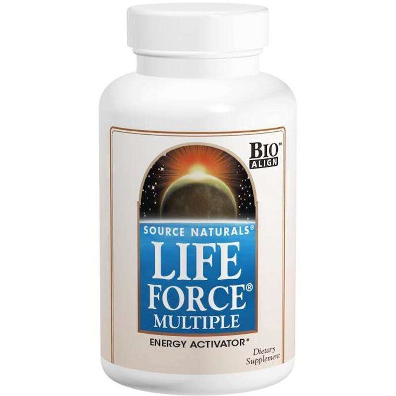 Source Naturals - Life Force® Multiple, No Iron - 180 Tablet - AM VITAMINS