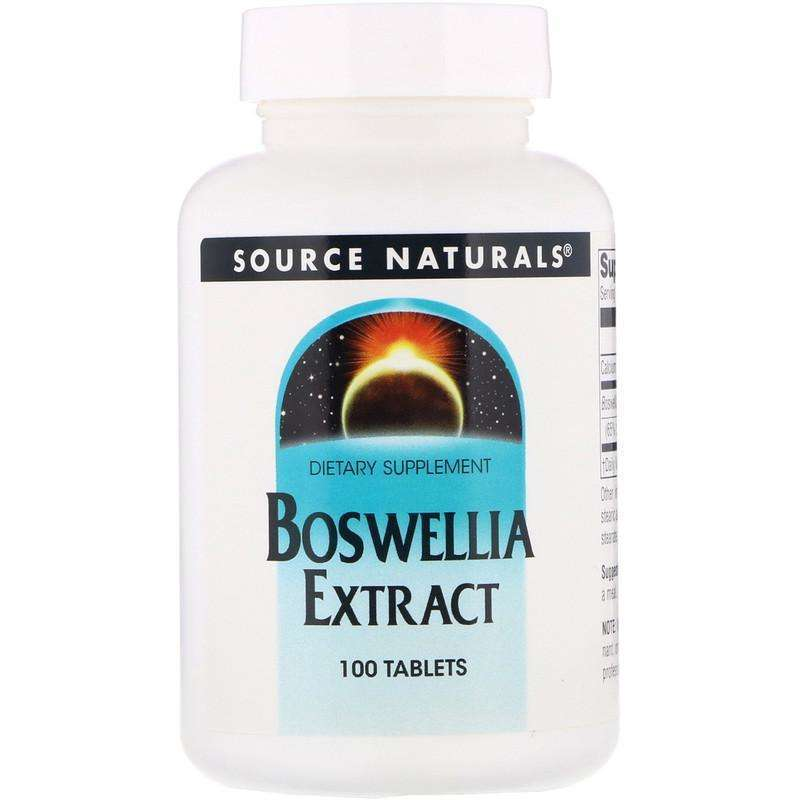 Source Naturals - Boswellia Extract - 100 Tablet - AM VITAMINS