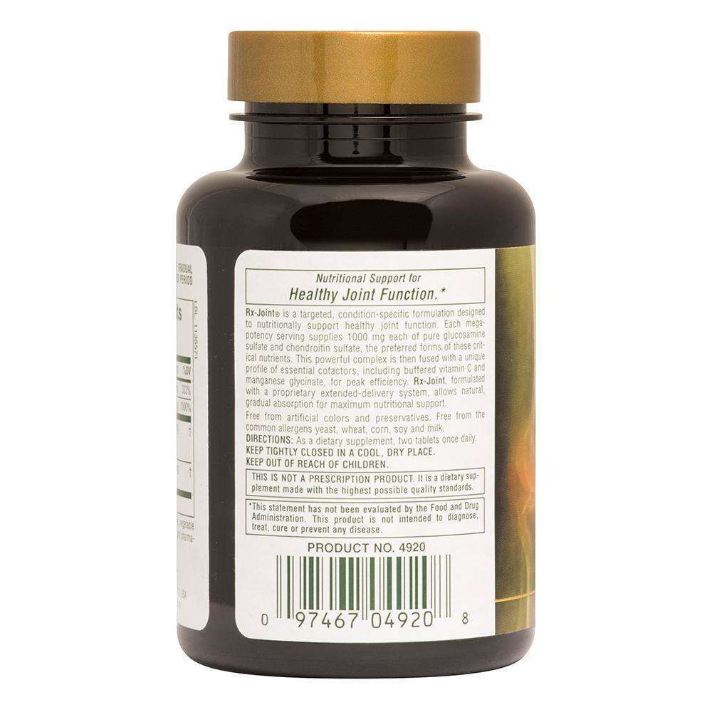 Natures Plus - RX JOINT Glucosamine/Chondroitin/MSM - 180 Tab - AM VITAMINS