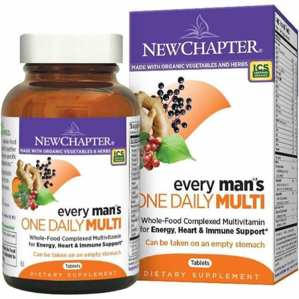 New Chapter - Every Man™'s, One Daily - 96 Tablets - AM VITAMINS