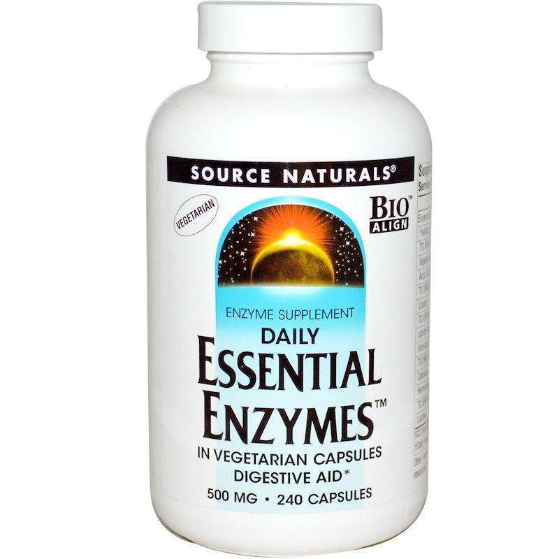 Source Naturals - Essential Enzymes® 500 Mg - 240 Capsules - AM VITAMINS