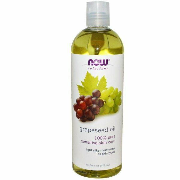 Now Foods - Solutions, Grapeseed Oil - 16 fl oz (473 ml) - AM VITAMINS