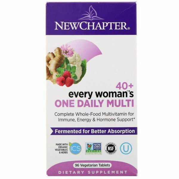 New Chapter - 40+ Every Woman™'s, One Daily - 96 Tablets - AM VITAMINS