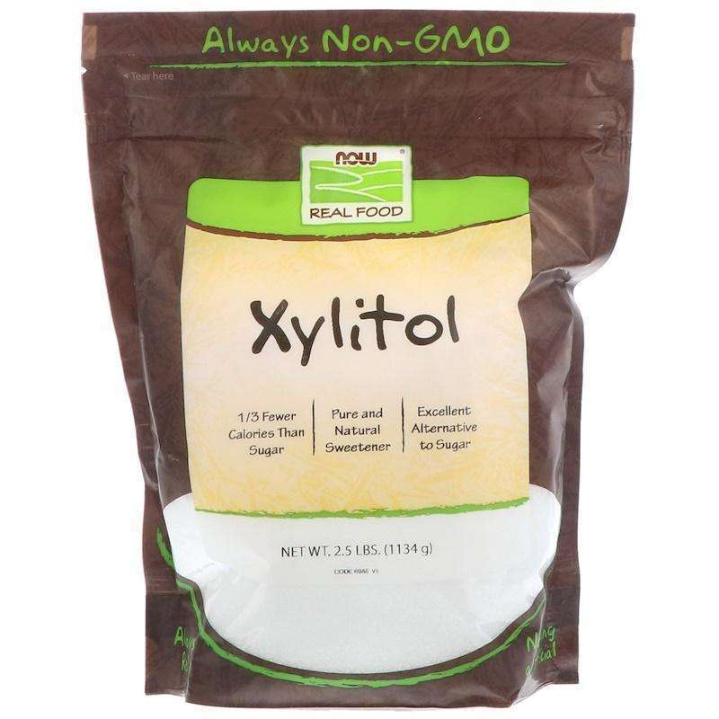 Now Foods - XYLITOL - 2.5 LB - AM VITAMINS
