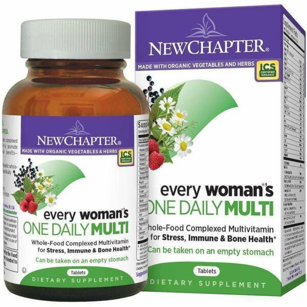 New Chapter - Every Woman™'s, One Daily - 72 Tablets - AM VITAMINS