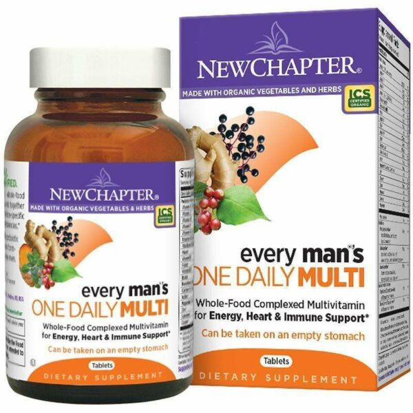 New Chapter - Every Man™'s, One Daily - 72 Tablets - AM VITAMINS
