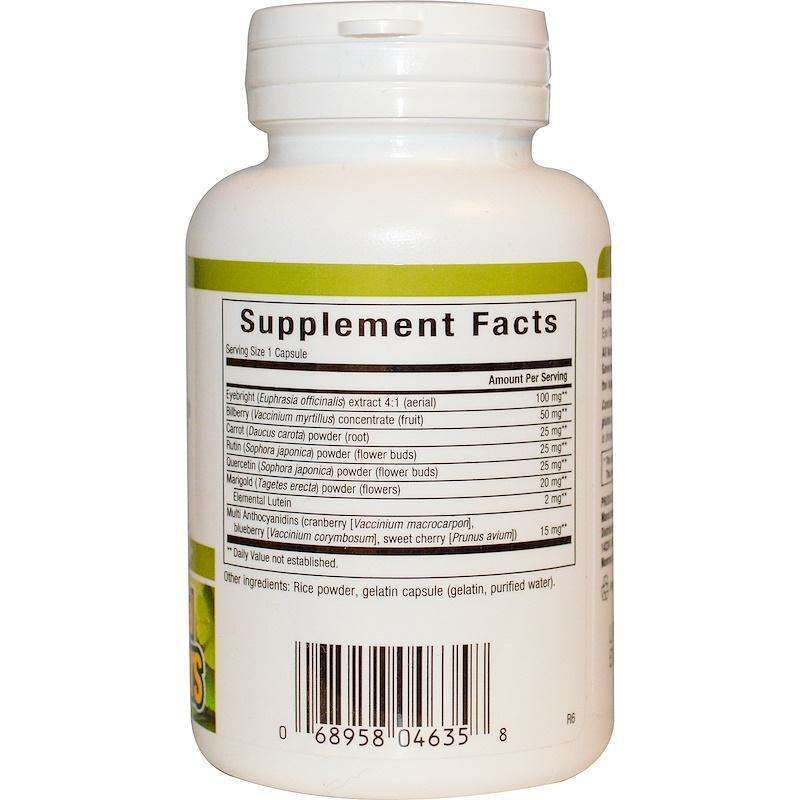 Natural Factors - Eye Factors With 2 Mg Lutein - 90 Capsules - AM VITAMINS