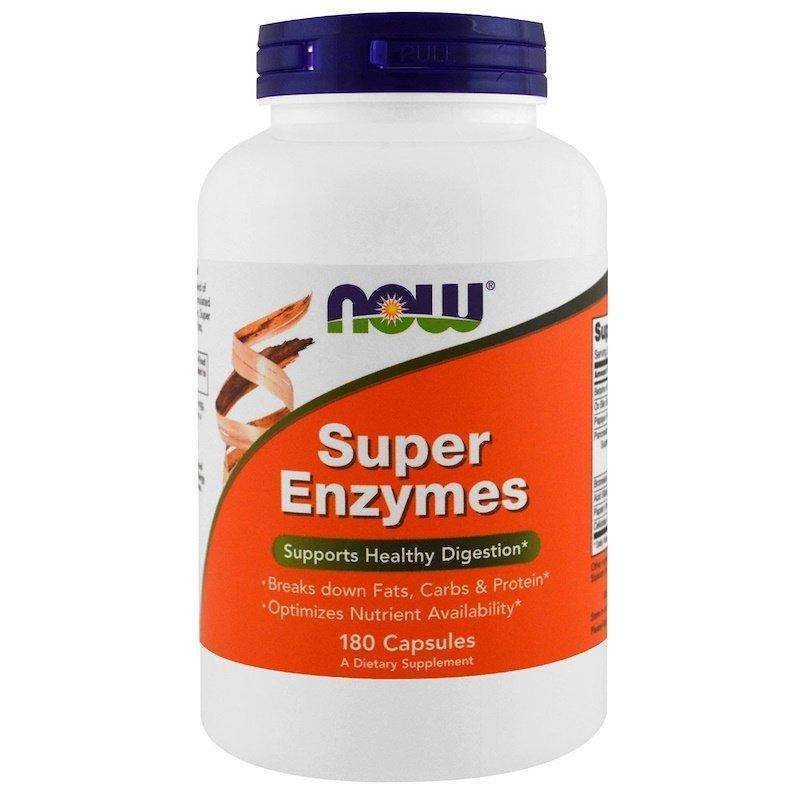 Now Foods - SUPER ENZYME - 180 Capsules - AM VITAMINS