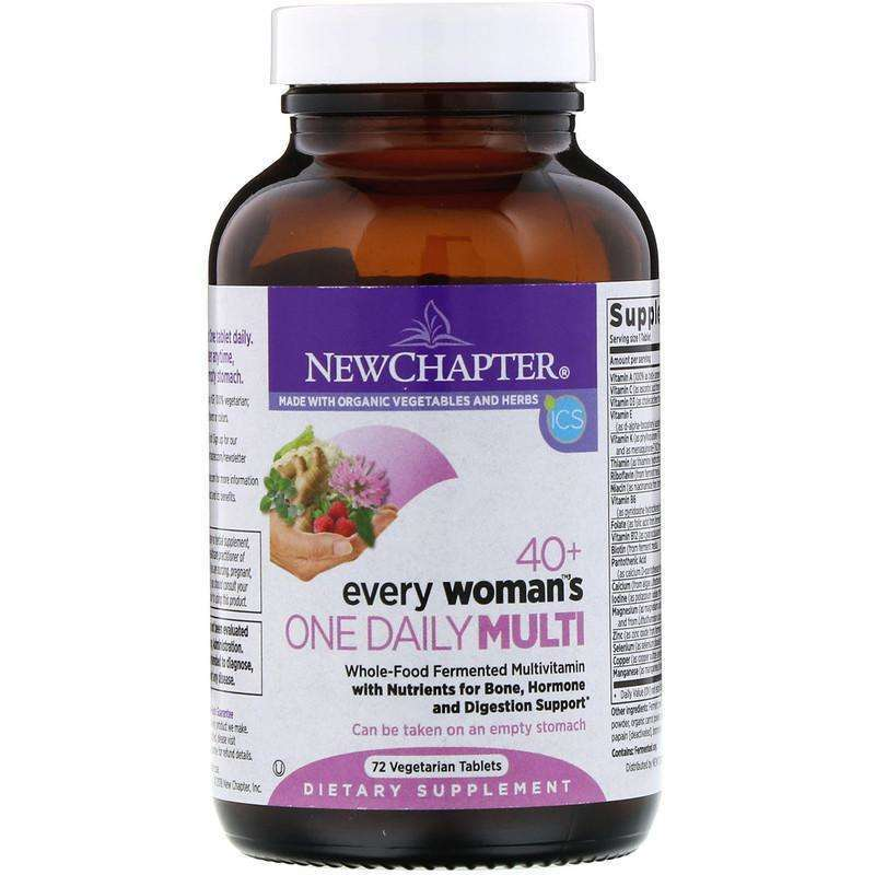 New Chapter - 40+ Every Woman™'s, One Daily  - 72 Tablets - AM VITAMINS