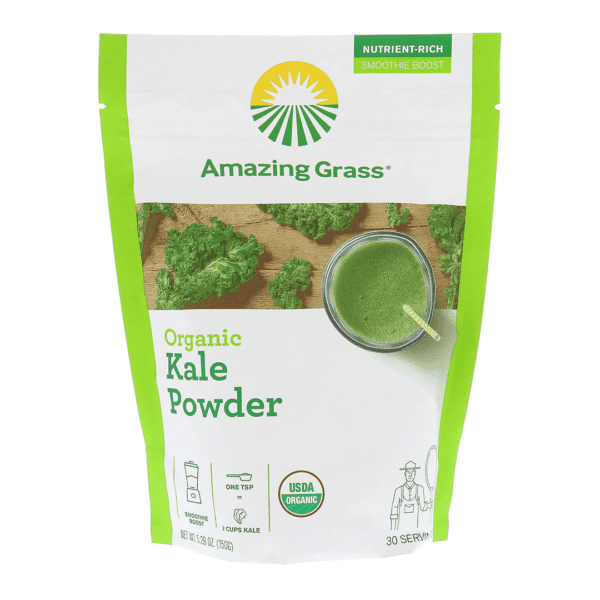 Amazing Grass - Organic Kale Powder - 30 Servings - 5.29 oz (150 g) - AM VITAMINS