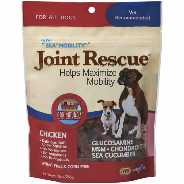"""Ark Naturals - Sea """"Mobility"""" Joint Rescue Chicken Jerky Dog Treats - 9oz bag (255g) - AM VITAMINS"""