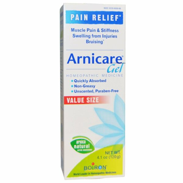 Boiron - Arnicare Gel Pain Relief Unscented - 4.1 oz (120 g) - AM VITAMINS