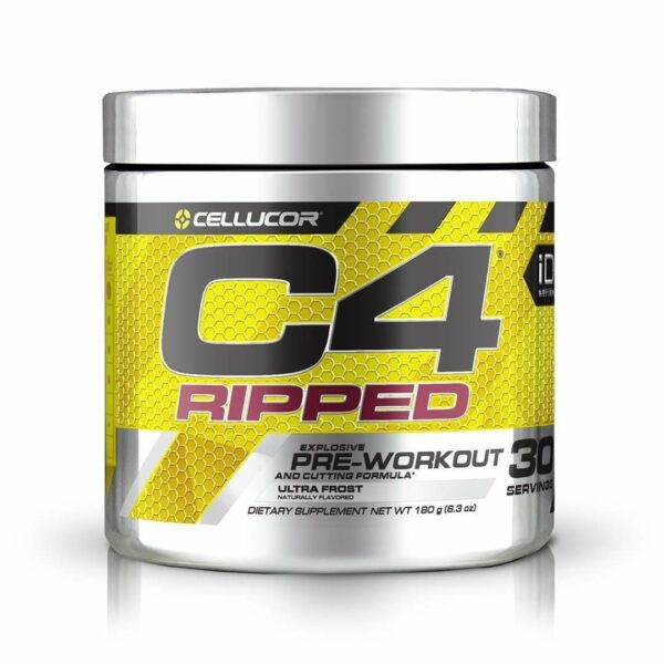 Cellucor - C4 Ripped, Pre-Workout, Ultra Frost - 6.3 oz (180 g) - AM VITAMINS