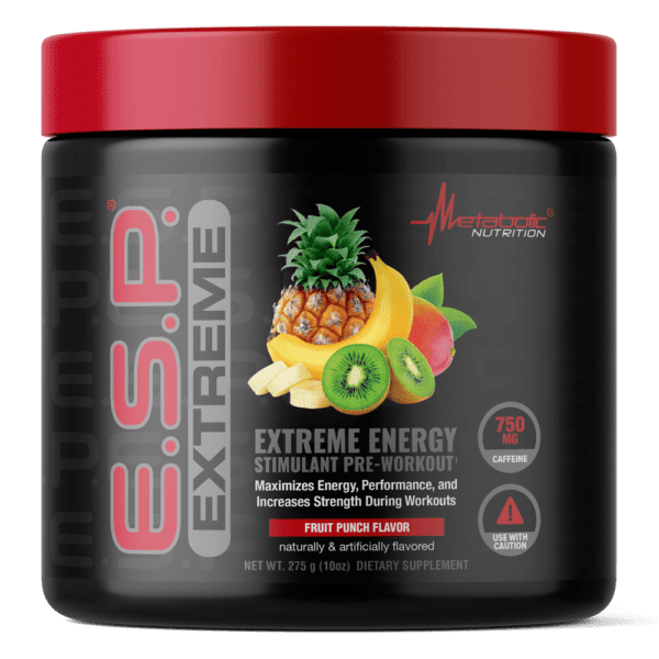 Metabolic Nutrition - E.S.P. Extreme Fruite Punch - 275 G - AM VITAMINS