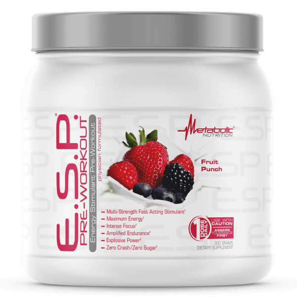 Metabolic Nutrition - E.S.P. Fruit Punch - 300g - AM VITAMINS