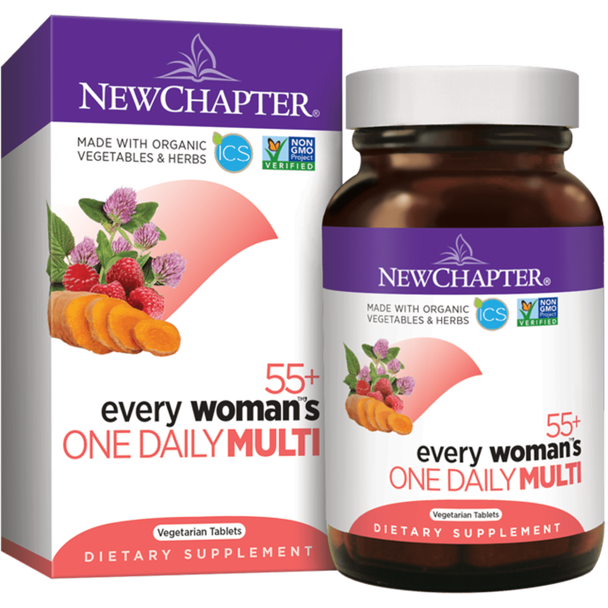New Chapter - 55+ Every Woman™'s, One Daily - 48 Tablets - AM VITAMINS