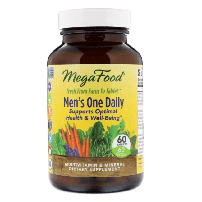 Megafood - Men's One Daily - 60 Tablets - AM VITAMINS