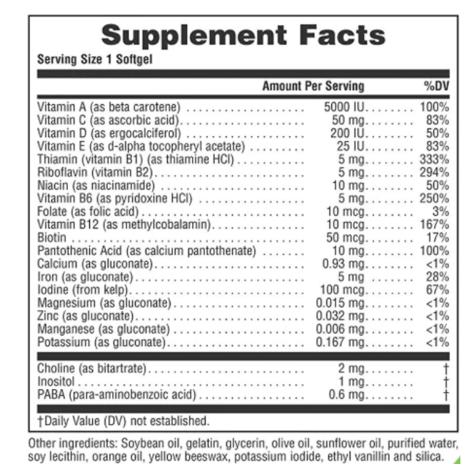 Natures Plus - Source of Life, Animal Parade, VitaGels, Multi-Vitamin & Mineral Supplement, Natural Cherry Flavor - 90 Softgels - AM VITAMINS
